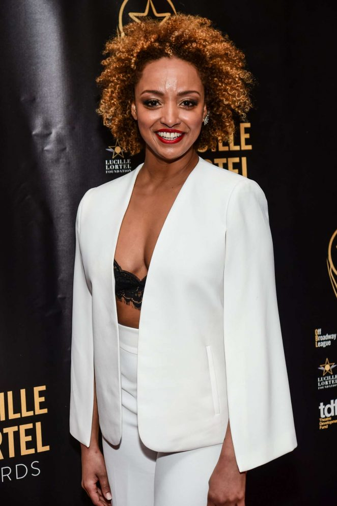 Asmeret Ghebremichael - 32nd Annual Lucille Lortel Awards in NY