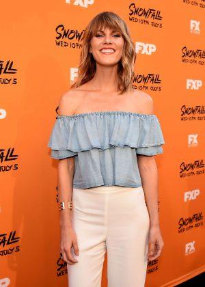 Astrea Campbell-Cobb - 'Snowfall' Premiere in Los Angeles