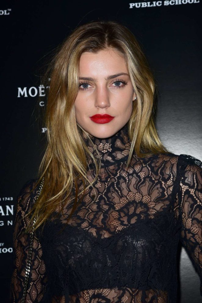 Astrid Baarsma - Moet and Chandon by Public School Launch Celebration at 2017 NY Fashion Week