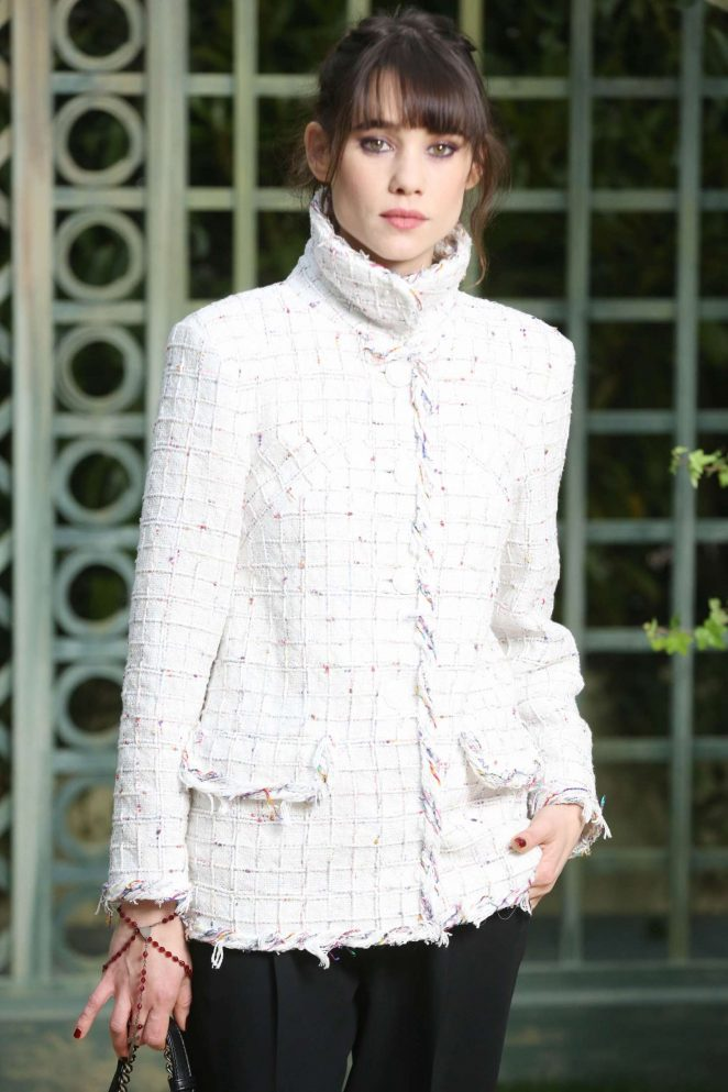 Astrid Berges - Chanel Haute Couture SS 2018 Show in Paris