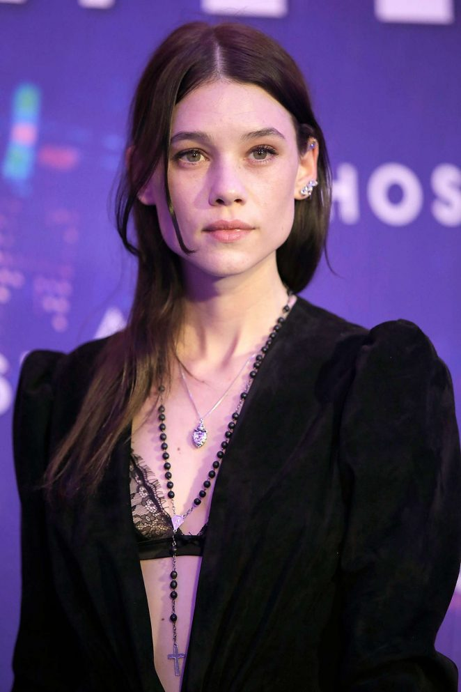 Astrid Berges-Frisbey – 'Ghost in the Shell' Premiere in Paris