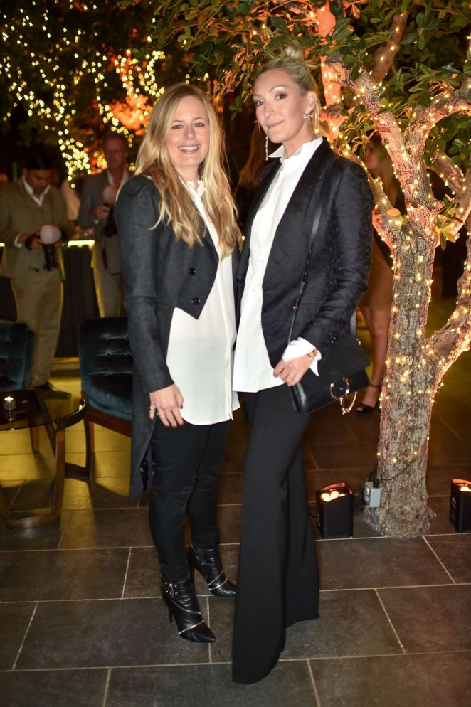 Astrid Harbod and Olivia Buckingham - Tatler's Little Black Book Party in London