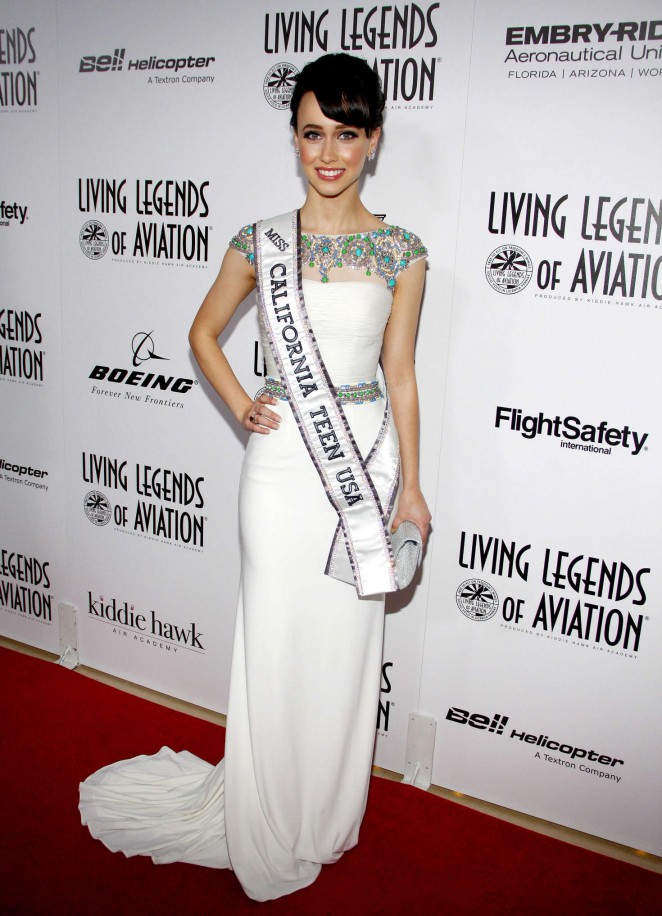 Athenna Crosby - 2016 Living Legends Of Aviation Awards in Beverly Hills