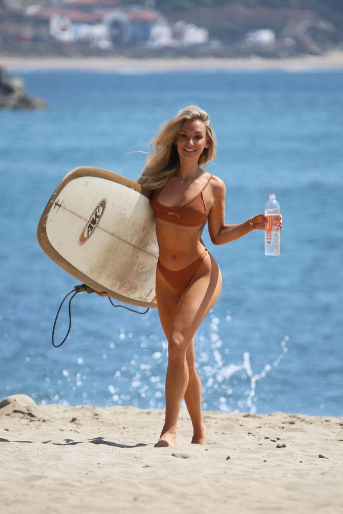 Aubrey Evans in Bikini - 138 Water Photoshoot in Malibu