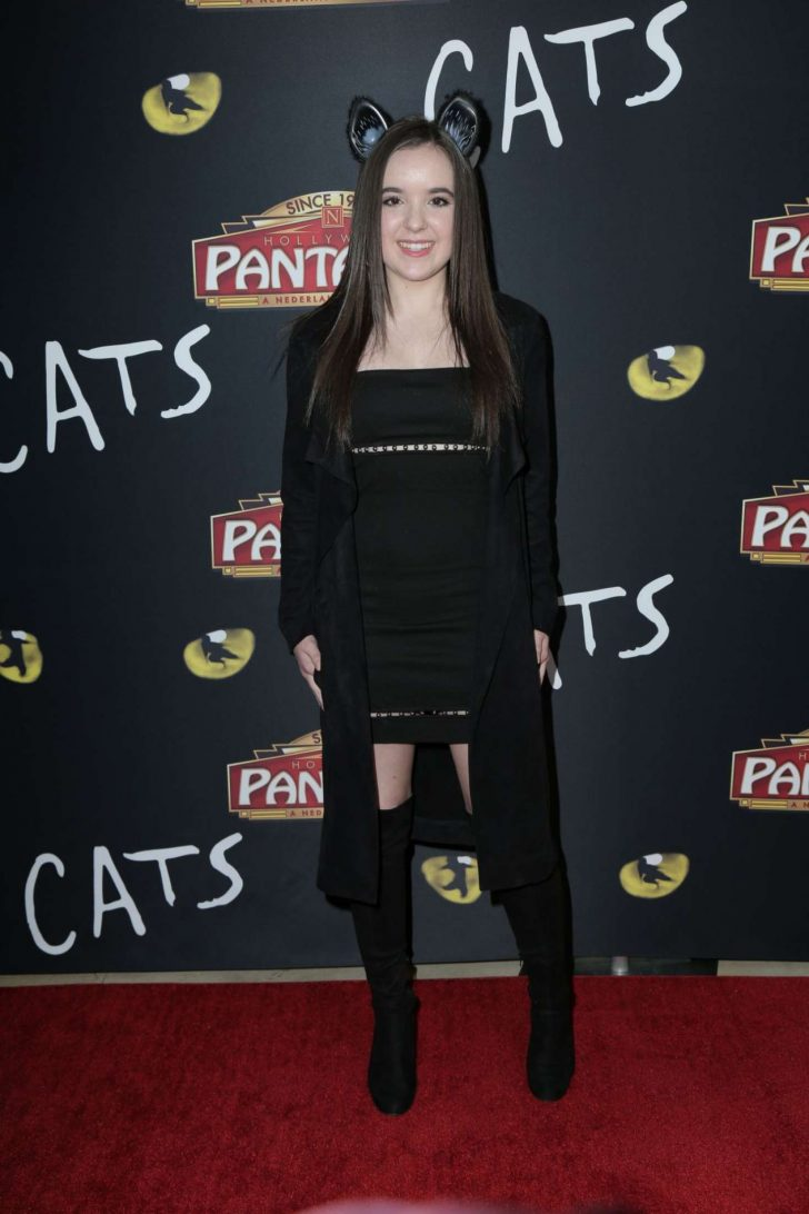 Aubrey Miller - 'Cats' Opening Night Performance in Hollywood
