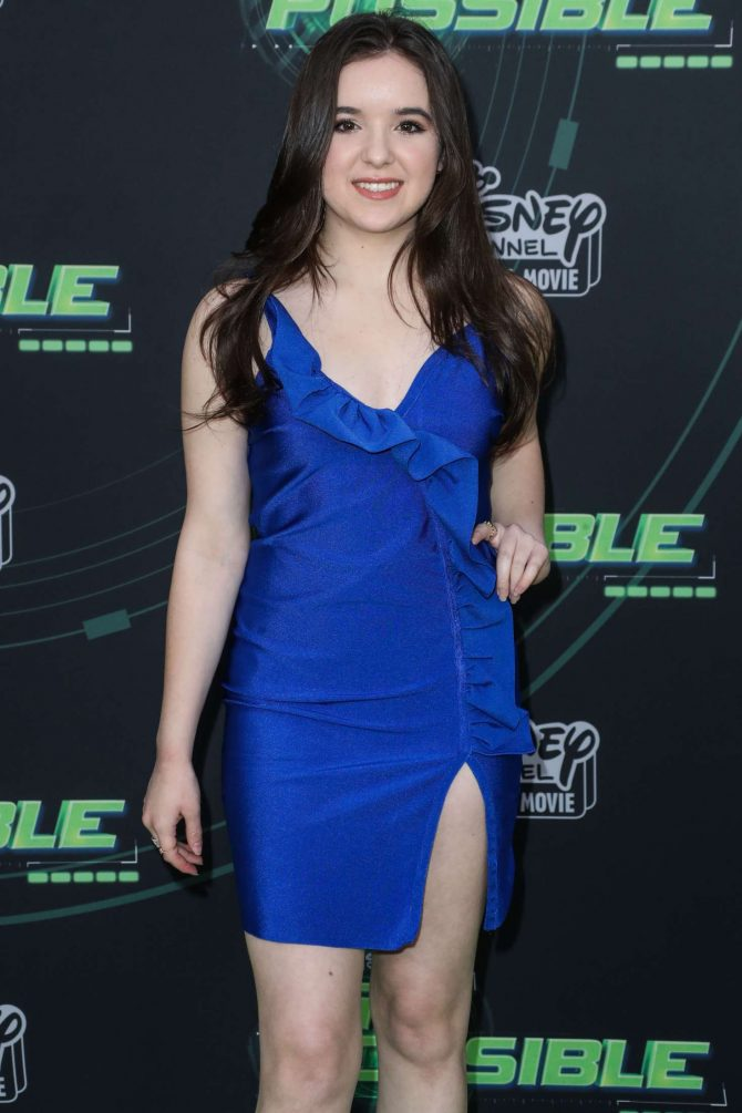 Aubrey Miller - 'Kim Possible' Premiere in Los Angeles