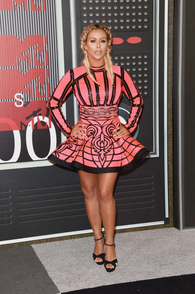 Aubrey O'Day - 2015 MTV Video Music Awards in LA