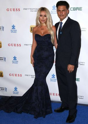 Aubrey O'Day - Autism Speaks La Vie En BLUE Fashion Gala in Burbank