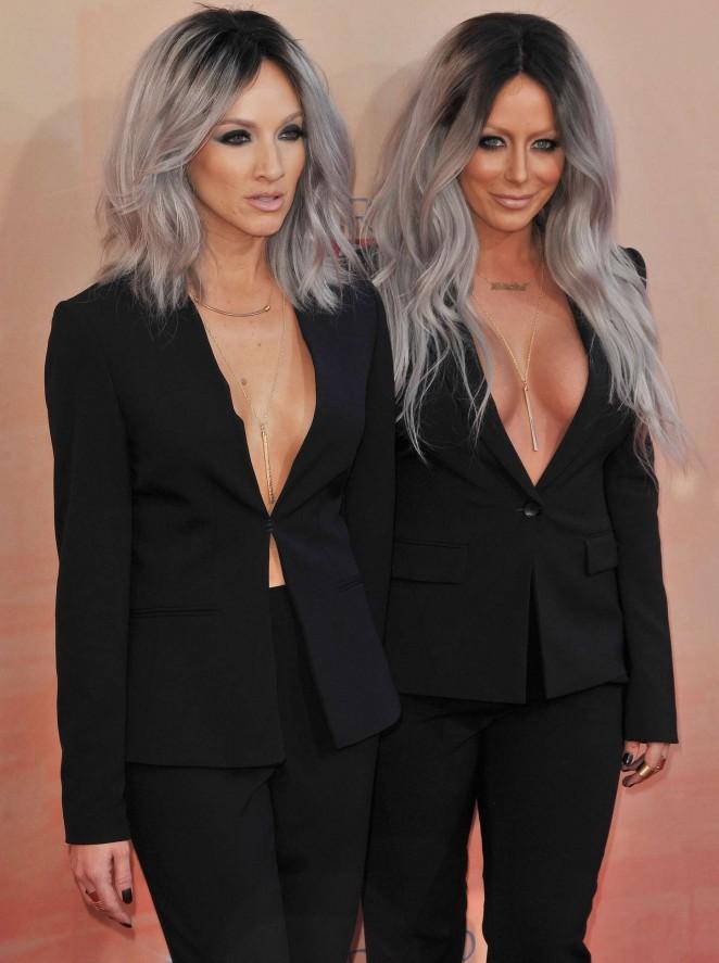 Aubrey O'Day & Shannon Bex - 2015 iHeartRadio Music Awards in LA