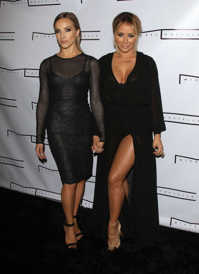 Aubrey ODay & Shannon Bex: Michael Costello Capsule Collection Launch Party -04