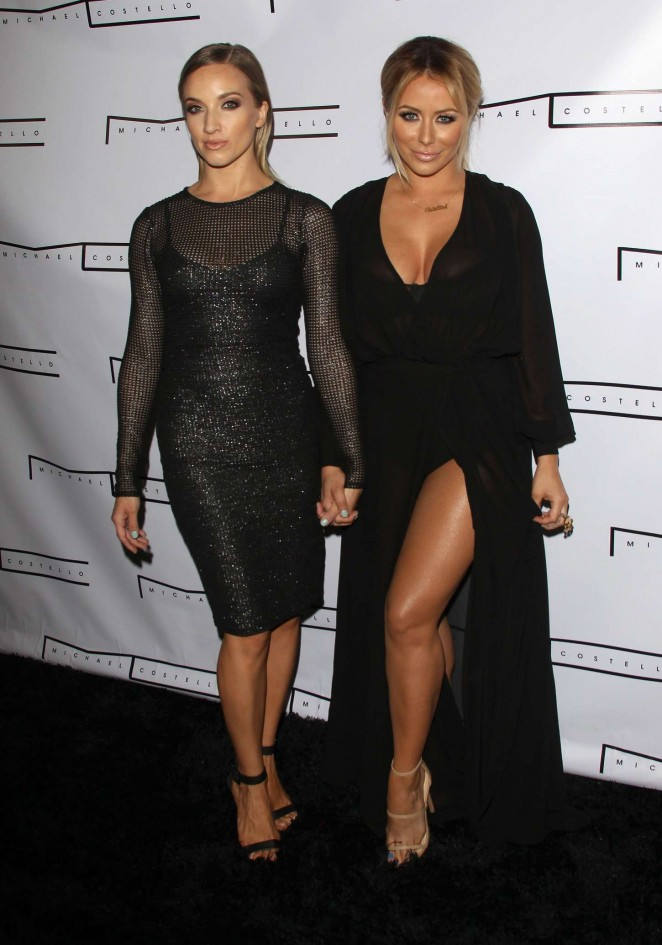 Aubrey ODay & Shannon Bex: Michael Costello Capsule Collection Launch Party -07