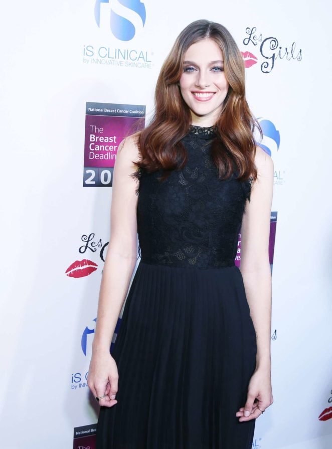 Aubrey Peeples - 17th Annual Les Girls Cabaret in Los Angeles