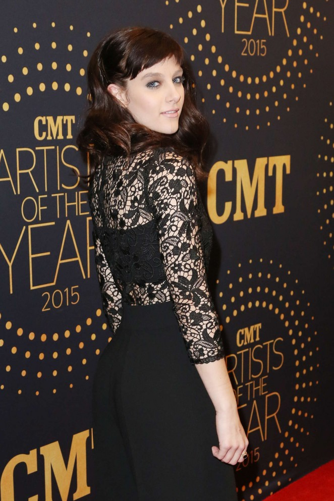 Aubrey Peeples - 2015 CMT Artists of the Year in Nashville