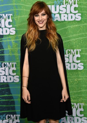 Aubrey Peeples - 2015 CMT Music Awards in Nashville
