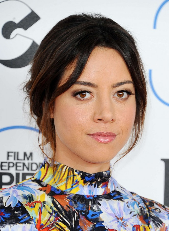 Aubrey Plaza: 2015 Film Independent Spirit Awards -05