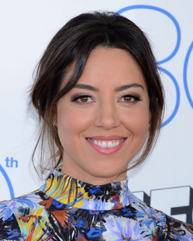 Aubrey Plaza: 2015 Film Independent Spirit Awards -09