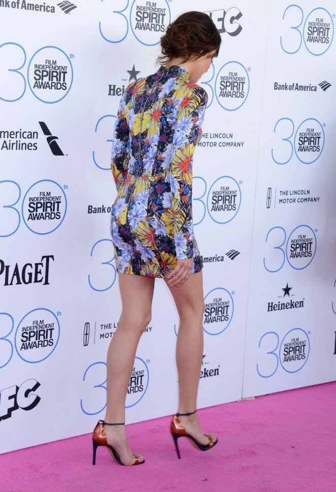 Aubrey Plaza: 2015 Film Independent Spirit Awards -13
