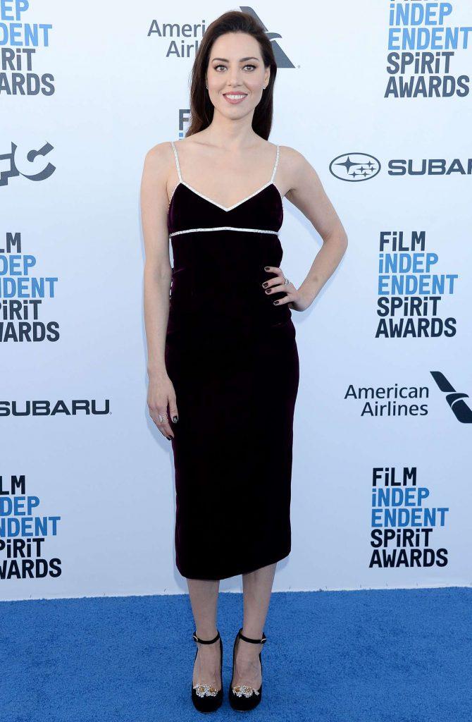 Aubrey Plaza - 2019 Film Independent Spirit Awards in Santa Monica