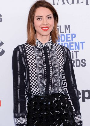 Aubrey Plaza - 32nd Film Independent Spirit Awards in Santa Monica