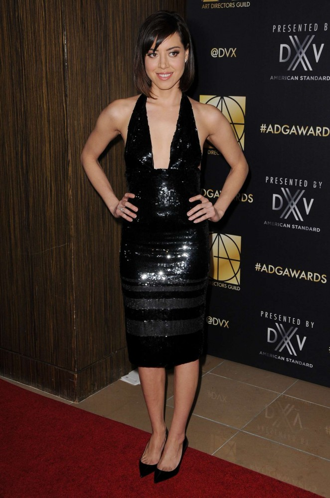 Aubrey Plaza - Art Directors Guild 20th Annual Excellence in LA