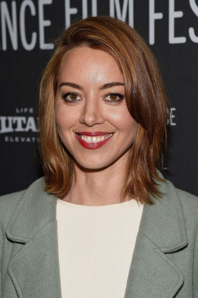 Aubrey Plaza - 'Ingrid Goes West' Premiere at 2017 Sundance Film Festival in Utah