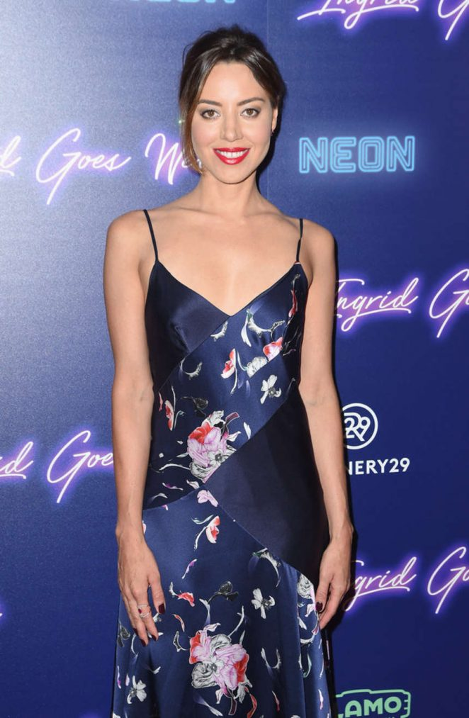 Aubrey Plaza – 'Ingrid Goes West' Premiere in NYC