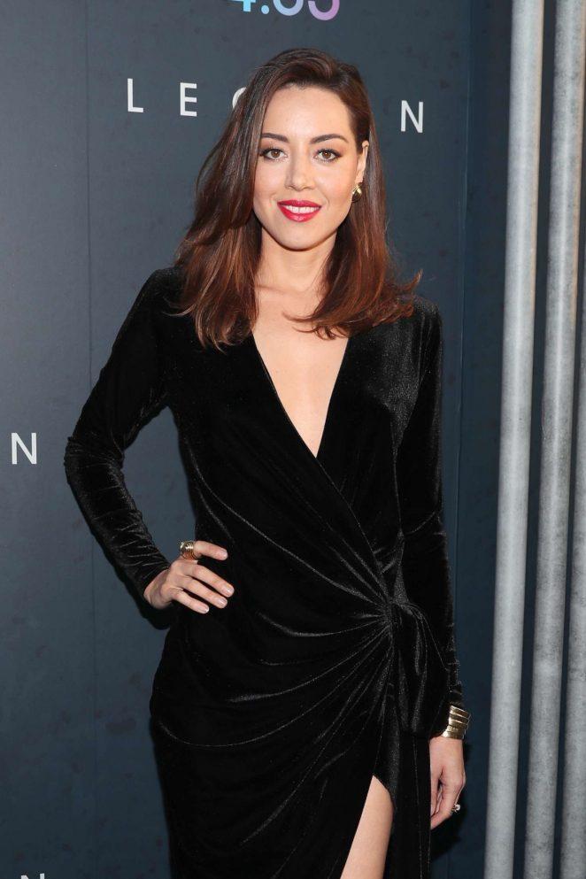 Aubrey Plaza - 'Legion' Season 2 Premiere in Los Angeles