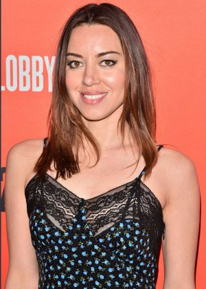 Aubrey Plaza - 'Lobby Hero' Broadway Play Opening Night in NYC