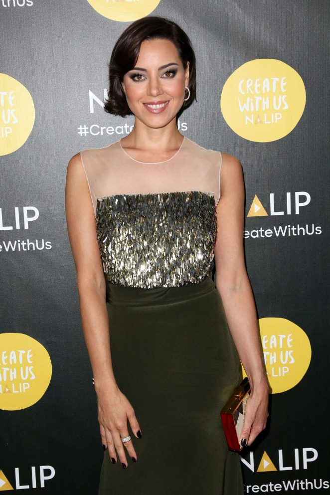 Aubrey Plaza – NALIP 2016 Latino Media Awards in Los Angeles