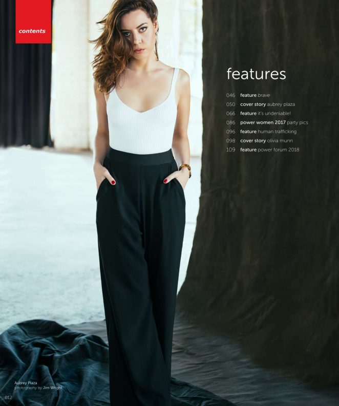 Aubrey Plaza - New York Moves Magazine (May 2018)