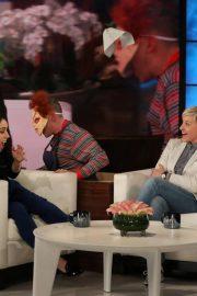 Aubrey Plaza - On The Ellen DeGeneres Show in LA