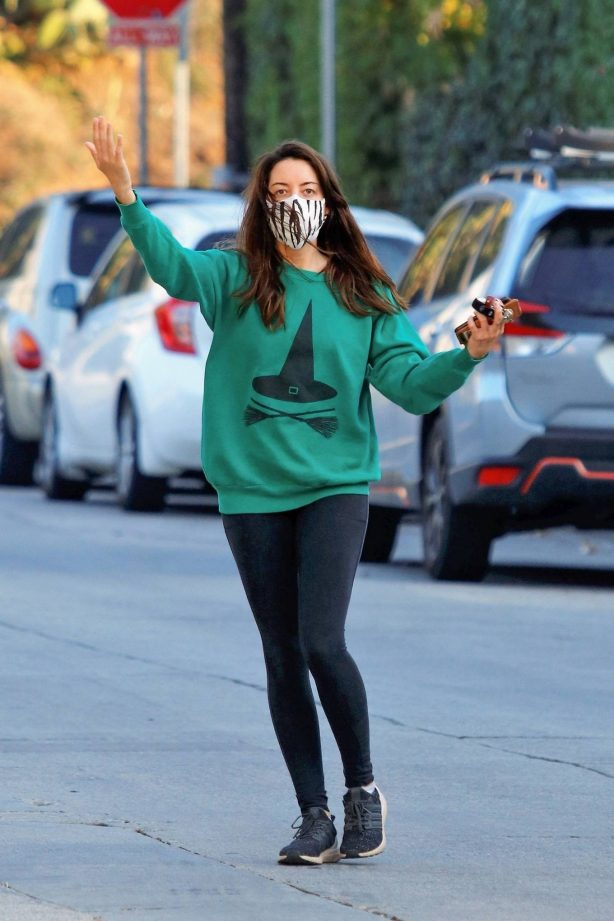 Aubrey Plaza - Out in Los Angeles