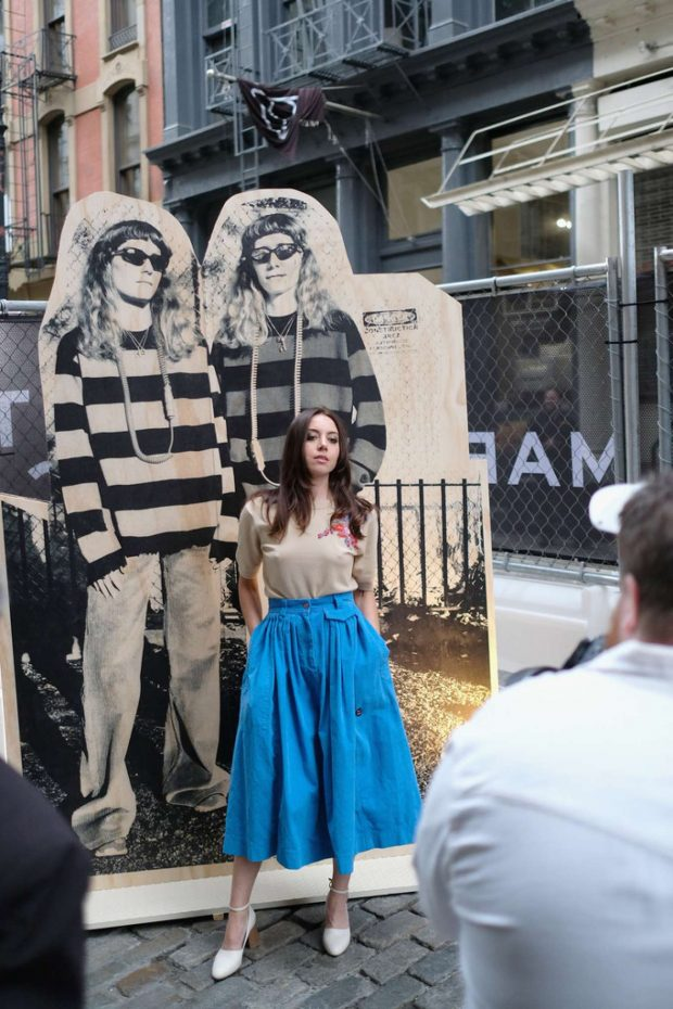 Aubrey Plaza - Pictured at THE Marc Jacobs SoHo Block Party in NYC