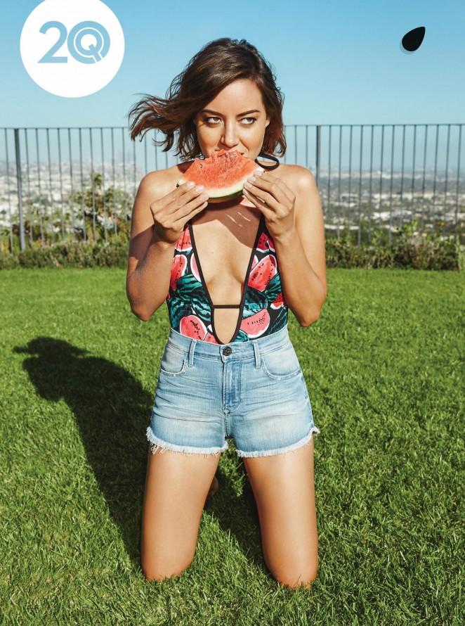 Aubrey Plaza - Playboy Magazine (April 2015)