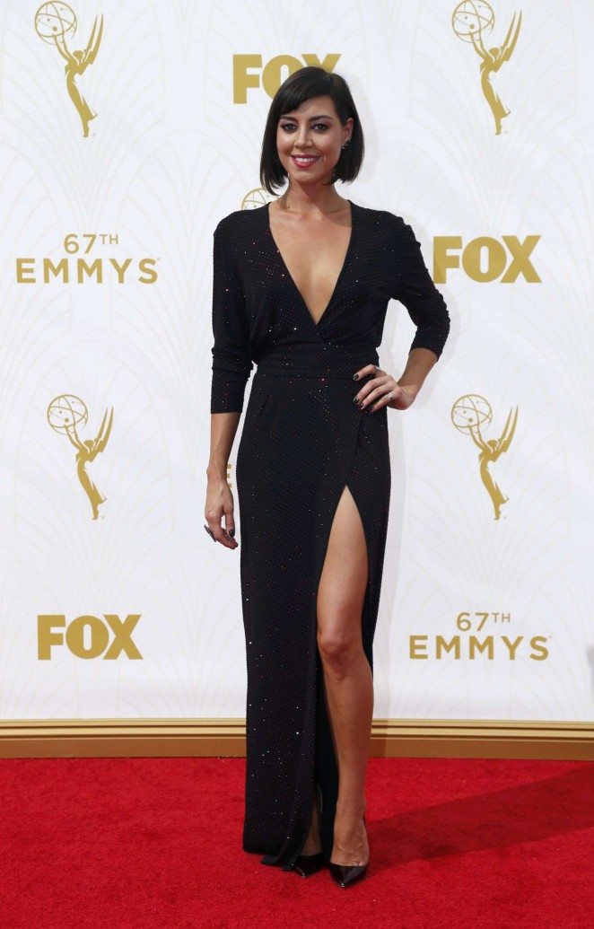 Aubrey Plaza - 2015 Primetime Emmy Awards in LA