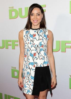 "Aubrey Plaza - ""The Duff"" Premiere in Los Angeles"