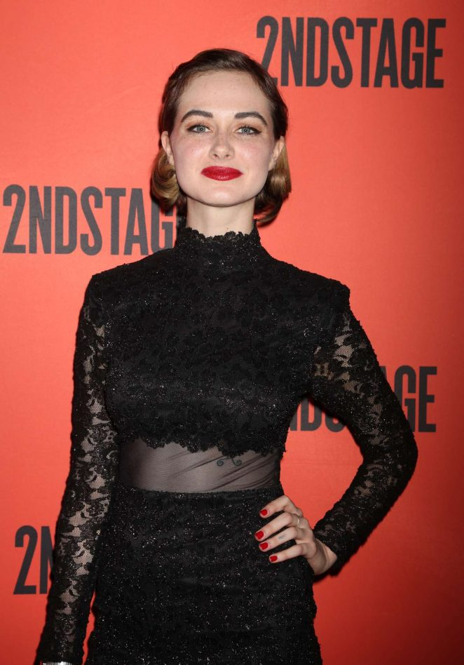 Audrey Corsa - Mary Page Marlowe Off-Broadway Opening Night Arrivals in NYC