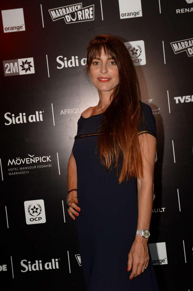 Audrey Dana - Marrakech du Rire 2018 Festival in Marrakech