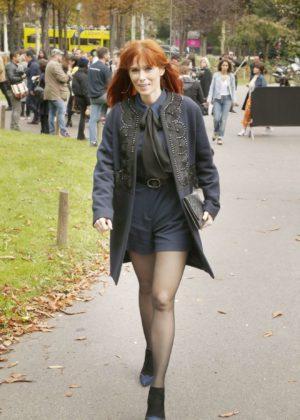 Audrey Fleurot – Leonard Paris Show at 2017 Paris Fashion Week