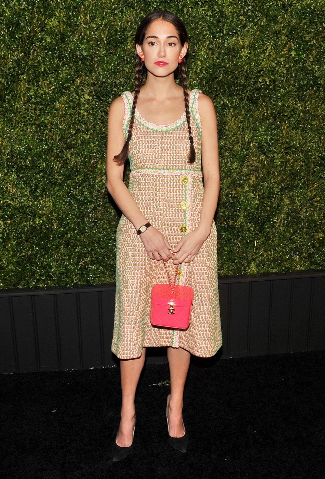 Audrey Gelman - 2016 Chanel Tribeca Film Festival Artists Dinner in NY
