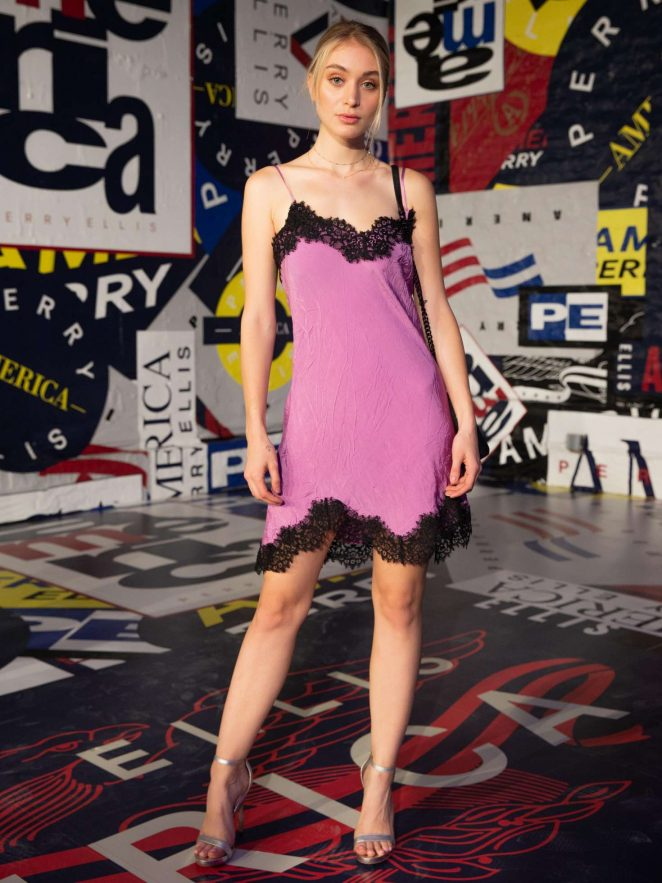Audrey Hilfiger - Perry Ellis America Launch Event in New York