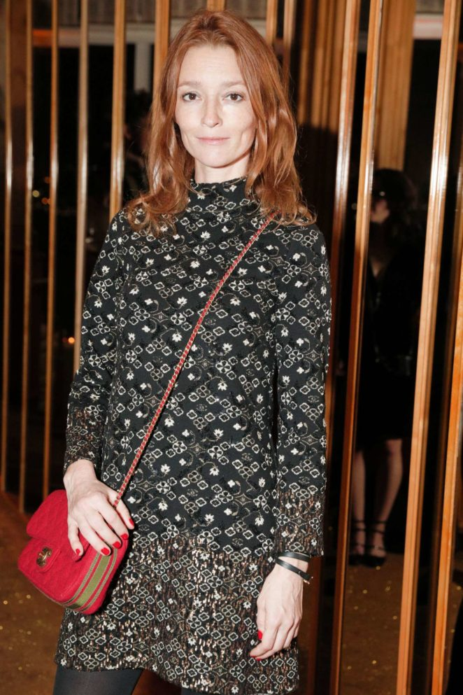 Audrey Marnay - V Magazine dinner in honor of Karl Lagerfeld in NY