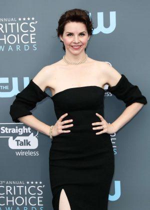 Audrey Moore - Critics' Choice Awards 2018 in Santa Monica