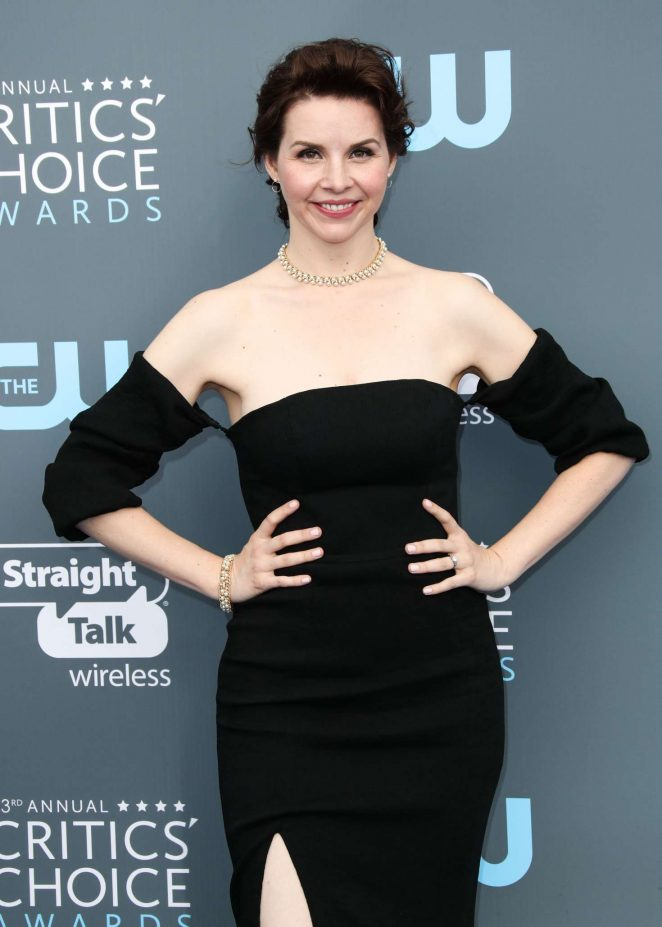 Audrey Moore - Critics' Choice Awards 2018 in Santa Monica