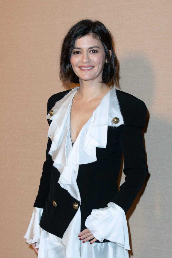 Audrey Tautou - Balmain Fashion Show at Paris Fashion Week 2020