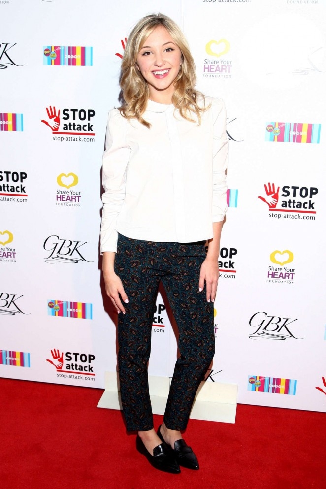 Audrey Whitby - GBK & Stop Attack Pre Kids Choice Gift Lounge in Hollywood