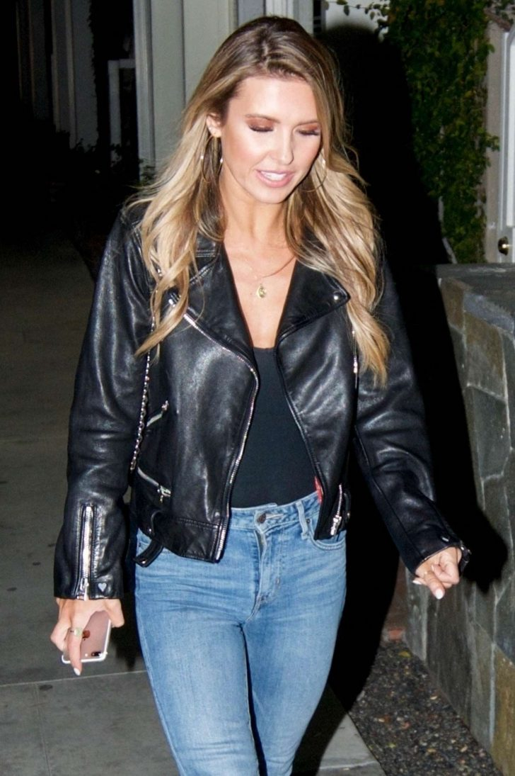 Audrina Patridge - Heads to dinner at Fig and Olive in Beverly Hills