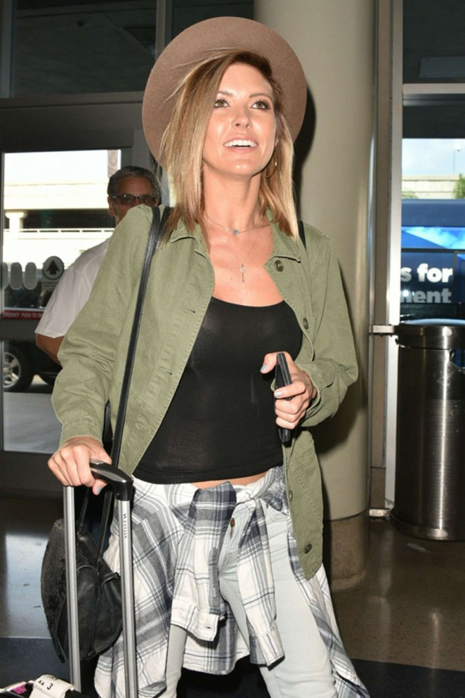 Audrina Patridge - LAX Airport in Los Angeles