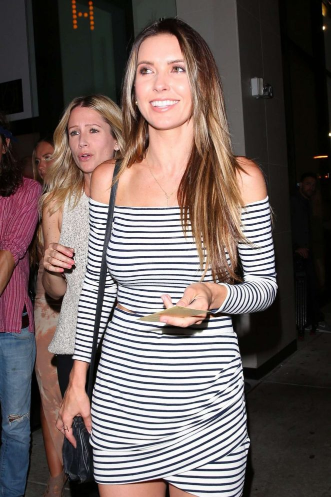 Audrina Patridge - Leaving Catch LA in West Hollywood