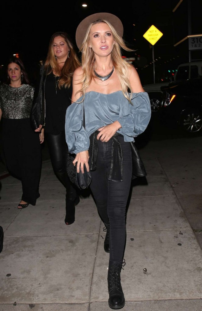 Audrina Patridge - Leaving The Nice Guy in West Hollywood